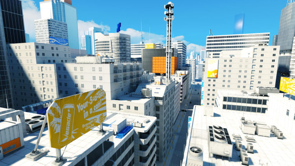 Sterilné The City neoplýva práve pestrými farbami.
