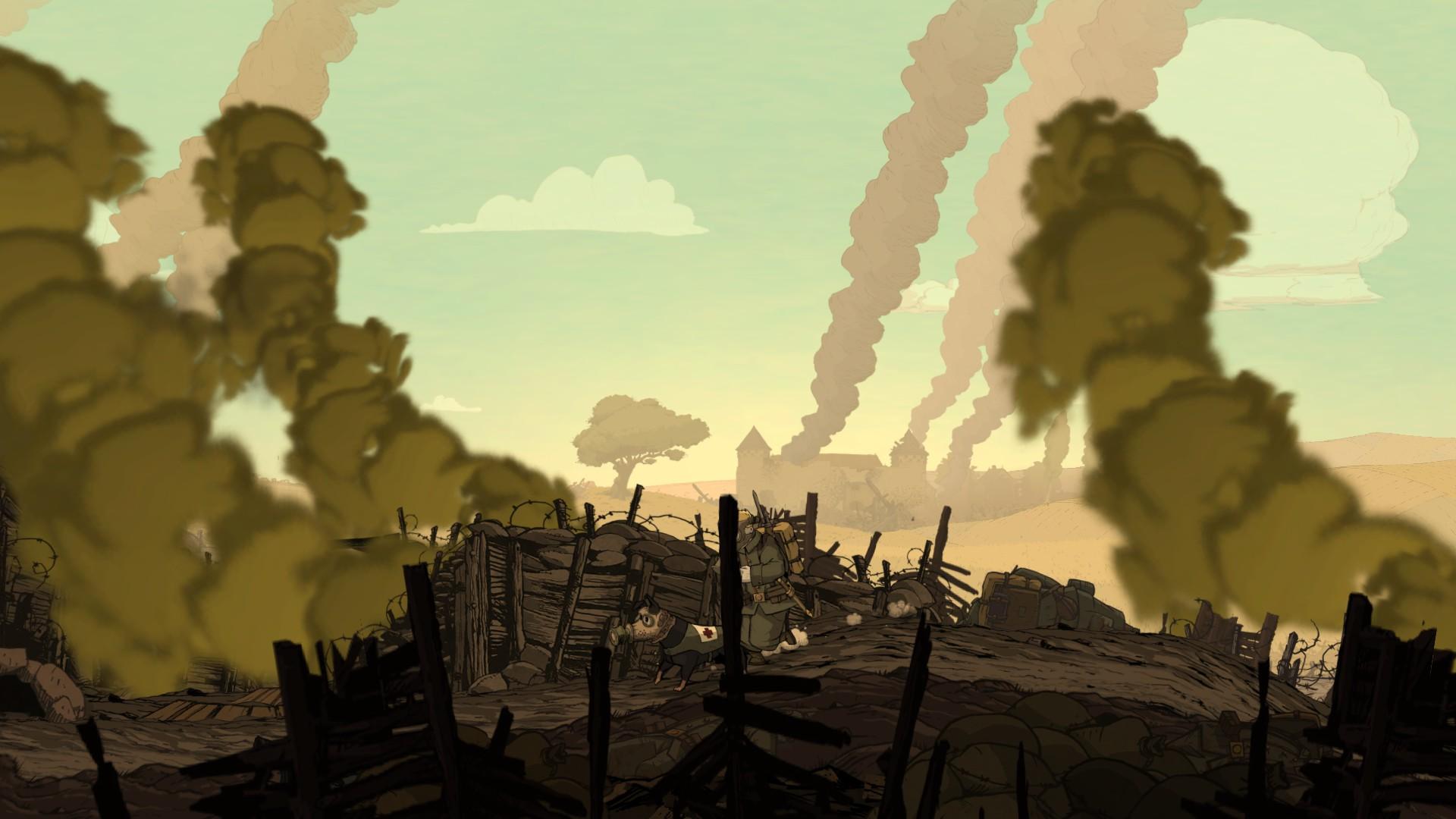 Žiadna next-gen grafika nie je potrebná. UbiArt dokáže znázorniť hrôzy vojny i bez nej.