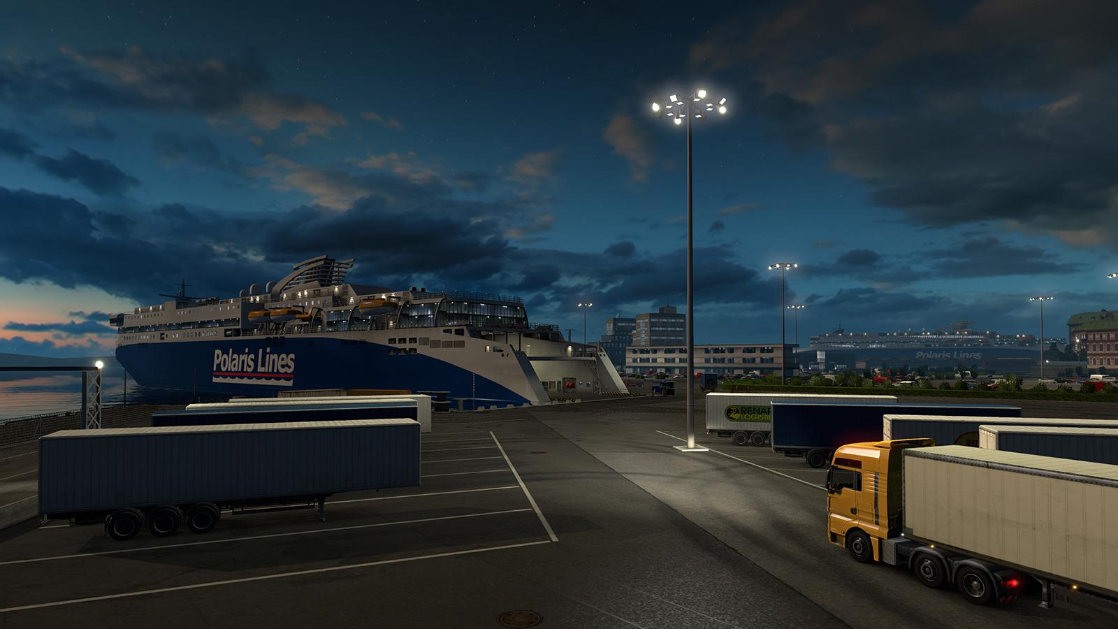 ETS2 - Scandinavia môže byť príkladom DLC, ktoré nie je nasilu vystrihnuté z hry.